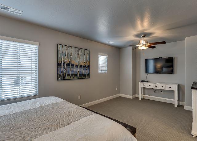 Master Bedroom Flat Screen