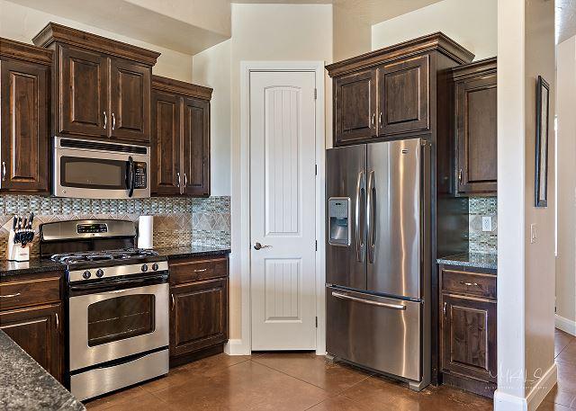 Kitchen - stainless steel