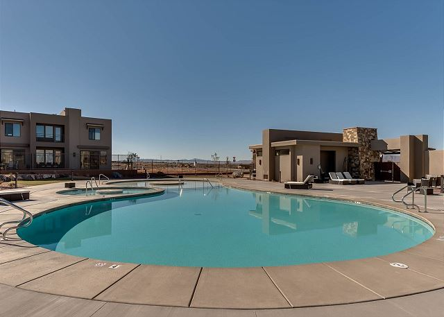 Ledges Pool area