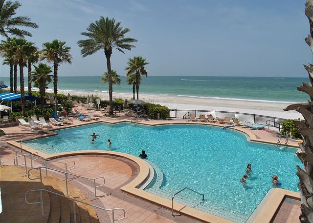 Tides 642-4-Beach Front Paradise!!-Luxurious pools-Hot tubs-Grills!