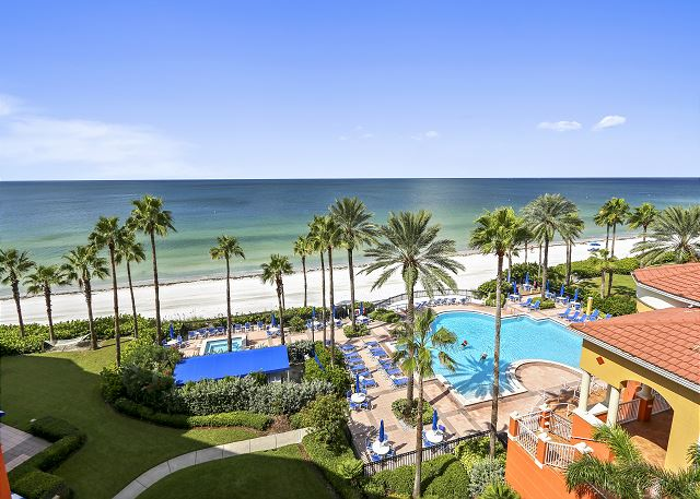 Tides 636-Top Floor/Beautifully updated! 3 Luxurious Pools-Hot Tubs-Grills!