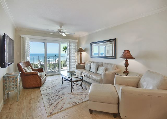 Land's End #404 building 10 - TOP Floor GULF views/Updated/Private Balcony!