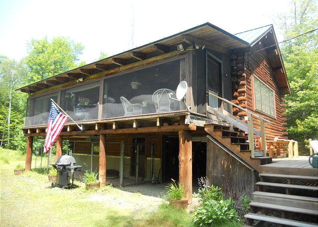 Vacation Rental Nh New Found Lake Cabin Ski Rental