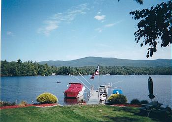 Holderness Harbor on Squam Lake, NH | Holderness Harbor