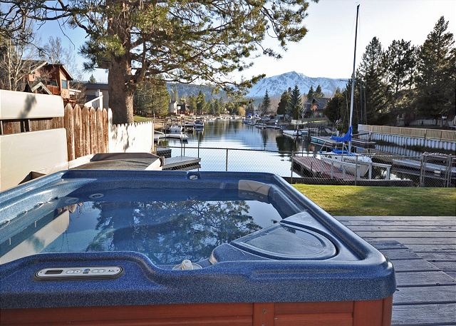 4 Person Hot Tub, Located On Deck With Access From The Dining Room