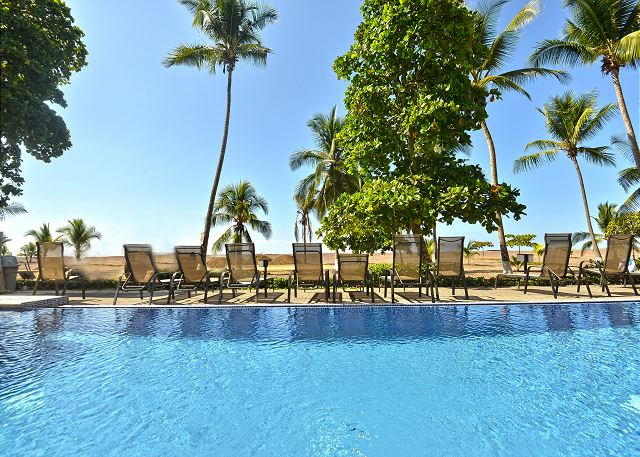 Lap Pool And Kid At The Palms Jaco Accesible While Staying 1001 10th Floor Vacation Al In Costa Rica