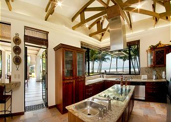 Playa Hermosa Villa rental - Interior Photo - Kitchen with a view