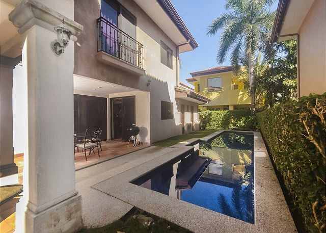 Lap Pool With Terrace And Full Bathroom At Beach View Casa Colonial Hermosa Palms Vacation Al In Playa Costa Rica