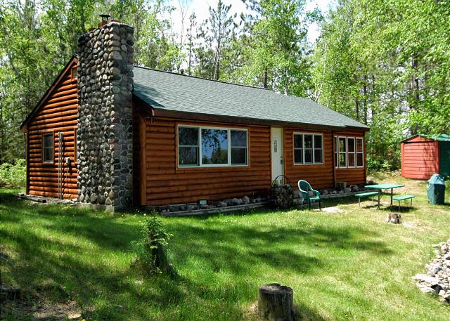 hayward wisconsin cabin rental on teal lake