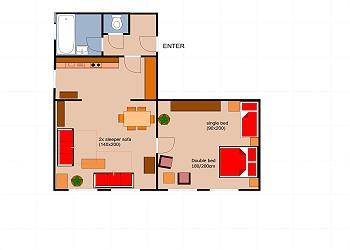 Plan des Appartements zeigen