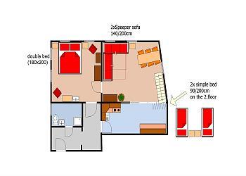 アパートを予約する、または詳細を確認する