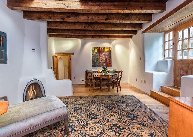 Hacienda de la pena Master bedroom with private garden