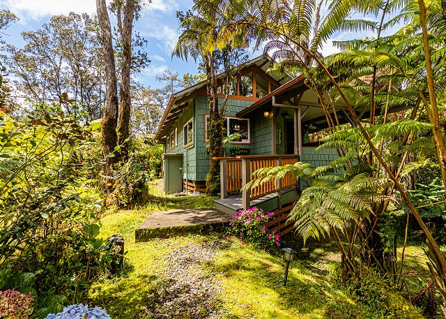 NEW! Volcano Kahaualea Cottage