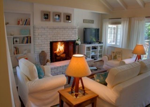 "Welcome to ""Carmel Point Beach Cottage\""! One guest said it looked just like a home out of Coastal Living Magazine! Soothing colors of the ocean and sand."