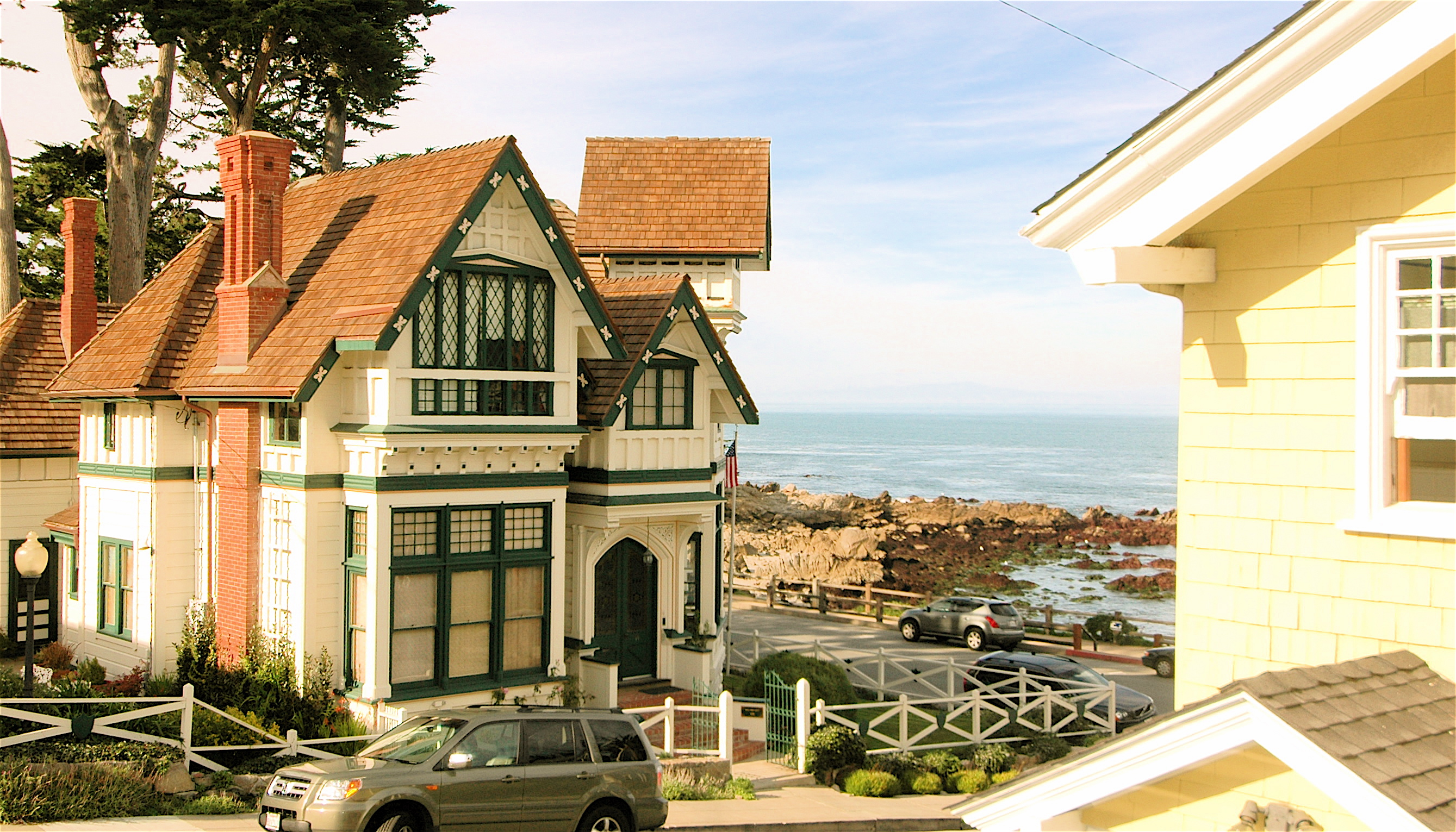 for vacation oceanview rent links sanctuary cottages serenity monterey action rentals