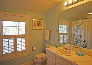 Second floor shared bath