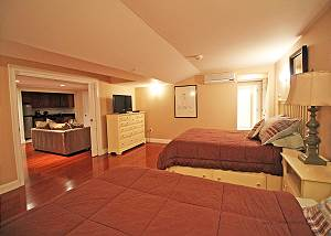 Another view of lower level bedroom