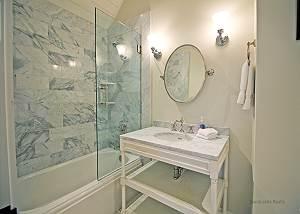 Second floor twin bedroom bath
