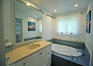 Another view of Master bedroom bathroom