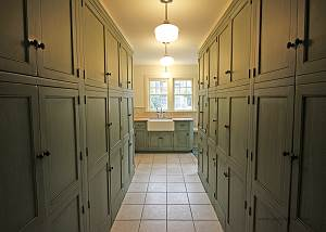 Kitchen Pantry with Farmer39s Sink