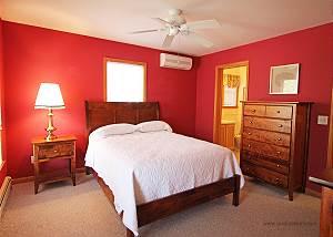 First floor bedroom with bath