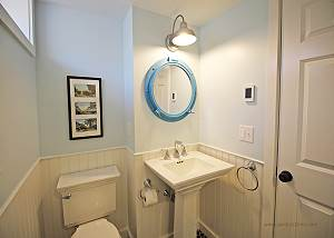 Lower level bathroom