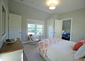 Queen Bedroom with access to Queen Suite