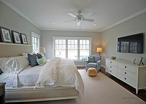 Another view of first floor King bedroom