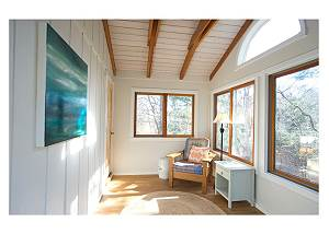 Sunroom off master bedroom
