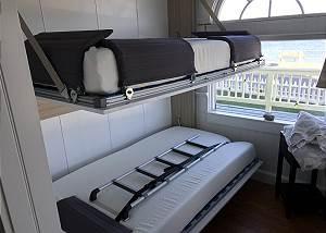 Murphy Bunk Beds Open