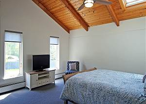 Another view of second floor Queen bedroom