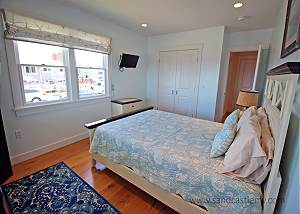 Another view of first floor Queen bedroom