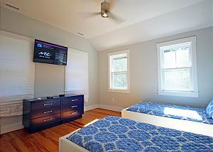 Another view of second floor Twin bedroom