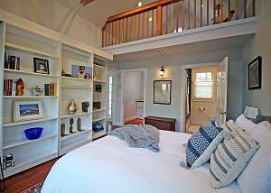 Another view of first floor suite bedroom