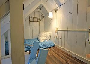 Second floor sleeping loft