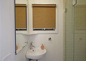 First floor half bathshower