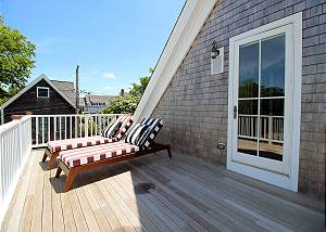 Another view of Master bedroom deck