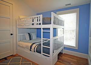 Second floor Full Bunk bed