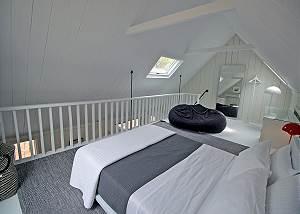Another view of Loft bedroom