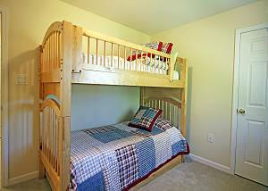 Twin bunk room