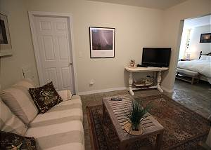 Lower level TV area
