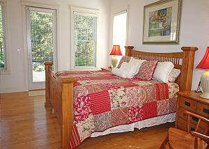 Another view of first floor master bedroom