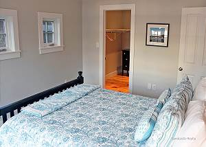 Another view of first floor guest bedroom