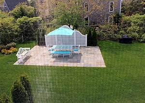 Shared Backyard Patio