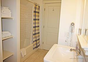 Twin bedroom bath
