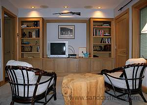 Another view of TV room