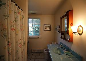 Second floor bathroom