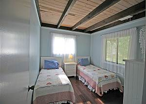 First floor twin bedroom
