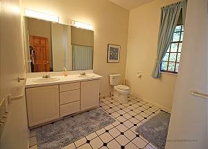 First floor Master bathroom