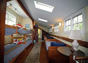 Second floor bunk room